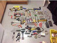 Job lot of second hand tools