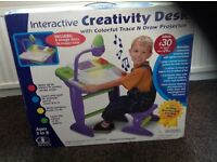 Brand new in box kid activity table and chair