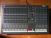 Used Soundcraft LX7 24 Channel mixing console