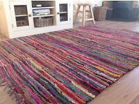 Fair Trade Rag Rug 2.7m x 2.7m