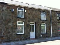 A two bedroom house situated in Nantymoel, Ogmore Vale.