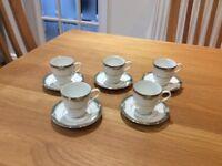 Noritaki Glenabbey coffee cups and saucers