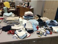 Baby boy 3 - 6 month old clothes bundle - 133 items