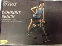 NEW ladies workout bench