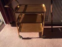 Tea trolley good condition H78cm x L68cm x W37cm