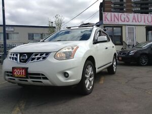 2011 Nissan Rogue SL, AWD, SUNROOF, NAVI, LEATHER