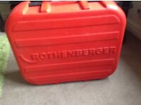 ROTHENBERGER ELETRIC PIPE FREEZER