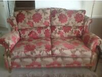 Excellent condition Wade 3 seater and wing chair for sale