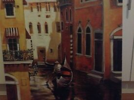 Gondolier Canvas painting