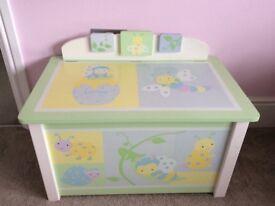 Children's unisex Toy Box