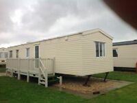 Caravan to rent Skegness, 3 BED, BOOK SEPTEMBER NOW, Highfields Caravan balcony, shops, pub nearby