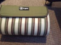 New insulated picnic blanket camping mat