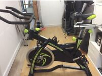Spin bike hardly used like new £215