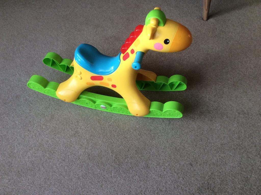 Fisher price rocking tunes giraffe (rocking horse)