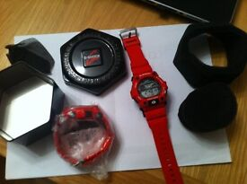 GOTTA GO ! = BRAND NEW - RED G SHOCK CLASSIC - G-7900A-4ER WATCH FOR SALE