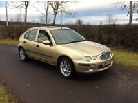 ROVER 25 1.4 GOOD CHEAP CAR FULL YEARS MOT RELIABLE AND ECONOMICAL