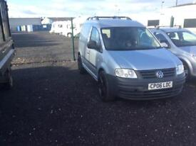 Volkswagen caddy 2006 1.9 TDI diesel starts and drives perfect