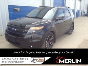 2015 Ford Explorer Sport PST PAID