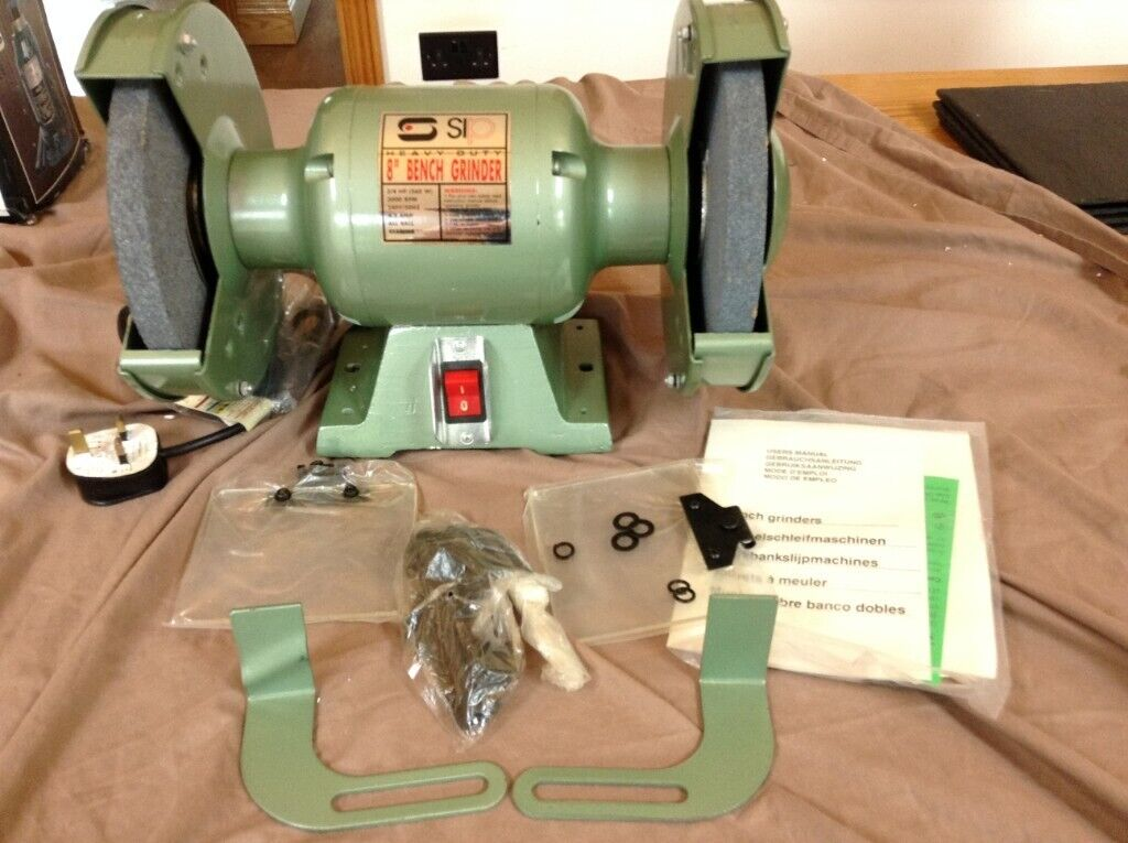Remarkable New Sip Heavy Duty 8 Bench Grinder 240V In Wimborne Dorset Gumtree Ocoug Best Dining Table And Chair Ideas Images Ocougorg