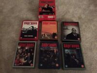 The Sopranos: Complete Series 1-6 DVD Box Sets