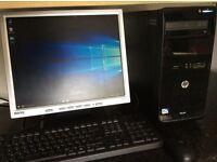 HP Pro 3500 MT Desktop Computer Windows 10