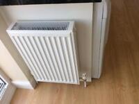 White radiator less than 12mths old