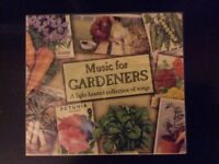 Brand new ' Music for Gardeners' CD, in original wrapper