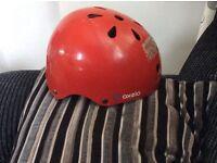 Free kids bicycle or skateboard helmet skate