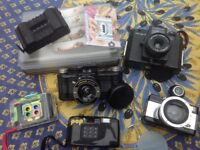 Collection of Lumography camera's