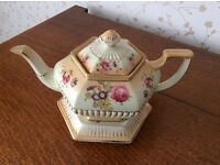 Art Deco teapot with stand