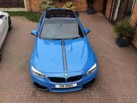 BMW M4 coupe tastefully modified and improved.