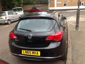 Vauxhall Astra black