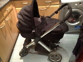 Oyster carrycot and stroller set