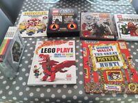 Minecraft/Lego/star Wars books