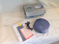 Sony Walkman D-E220 ESP portable cd player