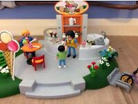 Used, Playmobil icecream parlour set.