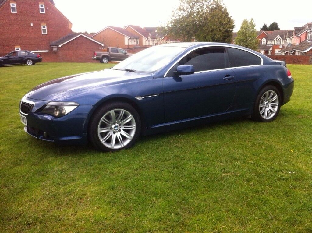 BMW 645CI BLUE COUPE PANORAMIC ROOF (6 SERIES 645, 630 ci, 635d, 745, cl500)