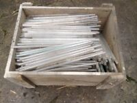 Extremely Large Quantity Of Glass Tubes Closed At One End