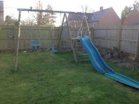 Tp Swing and slide platform