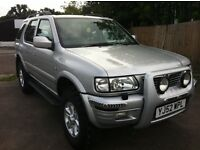 Vauxhall Frontera Olympus Dti 16V - 4x4 - Off road tyres fitted - Excellent in all conditions