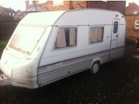 BARGAIN 4 BERTH TOURER WITH FULL AWNING & ANNEXXE ETC
