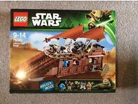 LEGO JABBAS SAIL BARGE NEW IN SEALED BOX