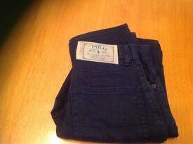 Boys polo trousers