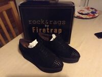 LADIES FIRETRAP LACE UP SHOES