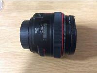 Camera lens 50 mm f1.2