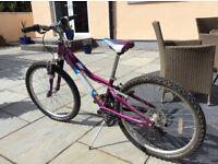 Girls mountain bike, Gary Fisher.