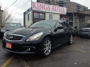 2013 Infiniti G37X  XS,SPORT,NAVI, AWD, BACK-UP CAM, SUNROOF, LE