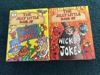 Sillt Little Books Of Stupid & Wicked Jokes (2Books)