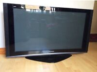 """Panasonic Viera 42"""" television in working order but needs a new remote control. In good condition"""