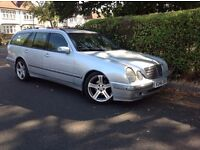 MERCEDES E240 ESTATE AVANTGARDE AUTO 7 SEATER